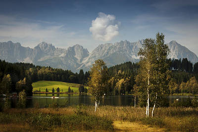 Photograph - Landscape Photography Schwarzsee by Alex Saunders