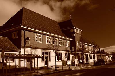 Photograph - Schwarzwald Bahnhof by Miguel Winterpacht