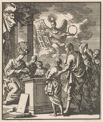 Science And Divine Wisdom, Jan Luyken Art Print