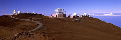 Haleakala National Park Photograph - Science City Observatories, Haleakala by Panoramic Images