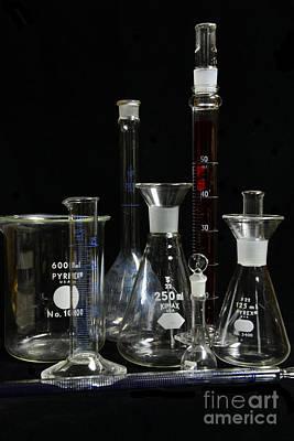 Science Lab Chemistry Art Print by Paul Ward