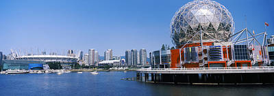 British Columbia Photograph - Science Museum At The Waterfront by Panoramic Images