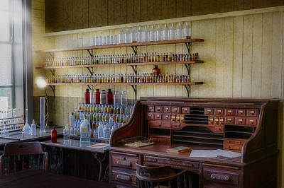 Photograph - Scientist Office by Susan Candelario