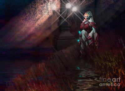 Digital Art - Scifi Rusit by Georgina Hannay