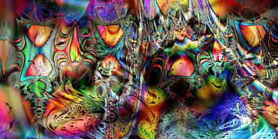 Digital Art - Scintillating by Kiki Art