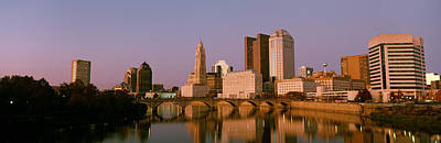 Columbus Ohio Photograph - Scioto River Columbus Oh by Panoramic Images