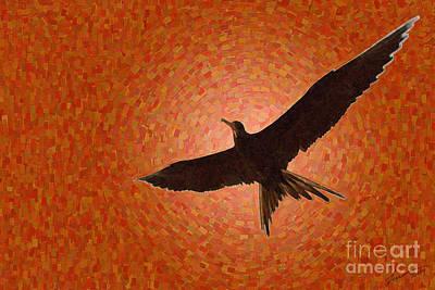 Scissor Bird Art Print
