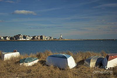 Scituate Harbor Boats Art Print