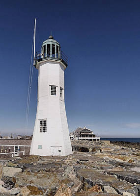 Photograph - Scituate Light by Janice Drew