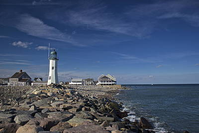 Photograph - Scituate Lighthouse by Amazing Jules