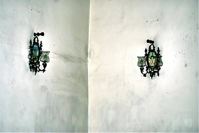 Photograph - Sconces In A Corner by Bob Wall