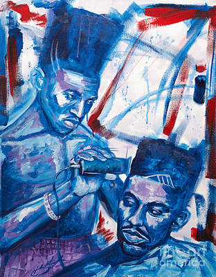 Clippers Painting - Scoob And Kane by The Styles Gallery