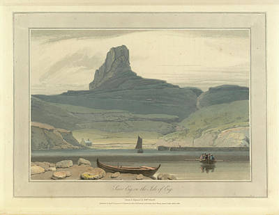 Scoor Eig On The Isle Of Eig Art Print by British Library