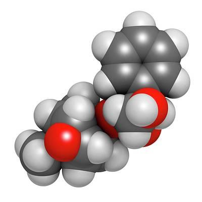 Jimson Photograph - Scopolamine Anticholinergic Drug Molecule by Molekuul