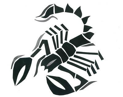 Scorpion Art Print by Earl ContehMorgan