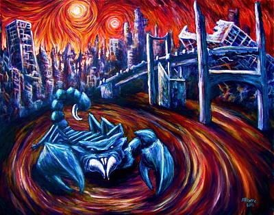 Scorpion King  Art Print