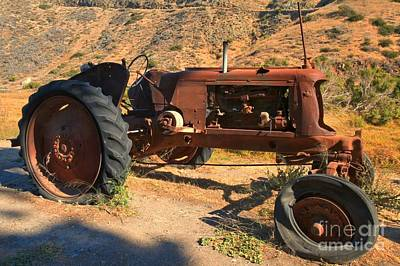 Photograph - Scorpion Ranch Tractor by Adam Jewell