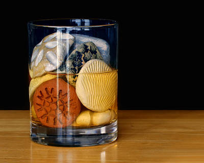 Pour Photograph - Scotch On The Rocks by Nikolyn McDonald