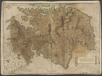 Cartography Photograph - Scotland by British Library