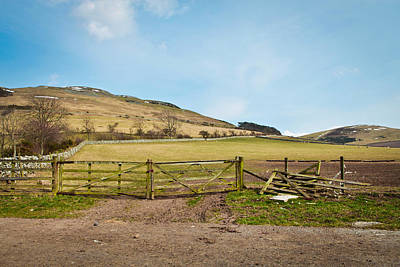 Farm Border Photograph - Scotland Farm by Tom Gowanlock