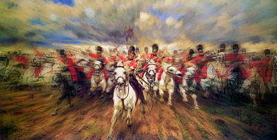 Painting - Scotland Forever  by Doc Braham