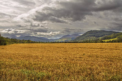 Photograph - Scotland - Golden Fields And Green Hills by Jason Politte