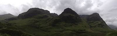 Ben Weinberg Photograph - Scotland Highlands - Glencoe View Panorama by Benjamin Weinberg