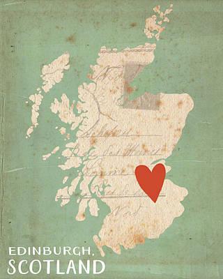 Scotland Painting - Scotland by Katie Doucette