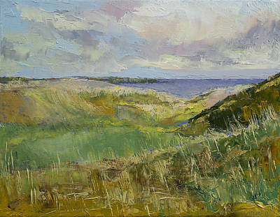 Scotland Painting - Scotland Landscape by Michael Creese