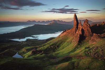 Scotland Wall Art - Photograph - Scotland - Old Man Of Storr by Jean Claude Castor