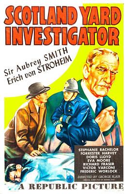 Scotland Yard Investigator, Us Poster Art Print