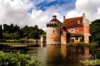 Scotney Castle Art Print