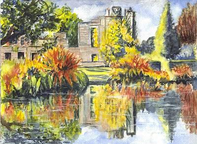 Scotney Castle Ruins Kent England Original by Carol Wisniewski