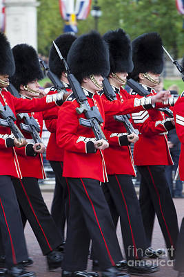 Changing Of The Guard Photograph - Scots Guards by Brian Jannsen