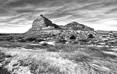 Scott Bluff National Monument Nebraska Original by James Steele