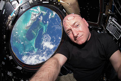 Scott Kelly Art Print