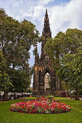 Architectural Photograph - Scott Monument by Marcia Colelli