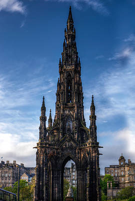 Photograph - Scott Monument by Veli Bariskan