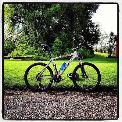 Mtb Photograph - #scott #mtb #bicycle by Ronald Arriola