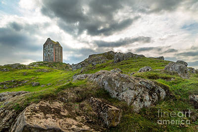 Photograph - Scottish Borders - Smailholm Tower by Matt  Trimble