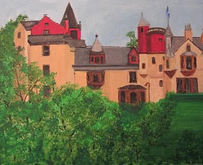 Scottish Castle Art Print