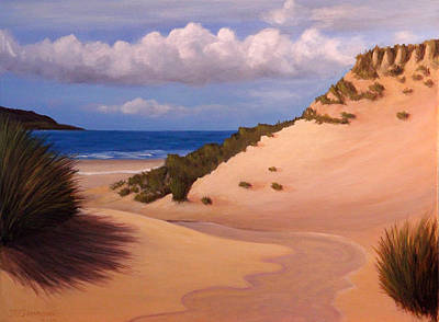 Painting - Scottish Dunes by Janet Greer Sammons