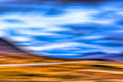 Photograph - Scottish Highland Landscape Abstract by Mark Tisdale