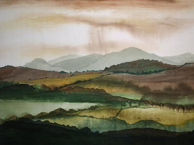 Painting - Scottish Hills by Hazel Millington