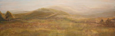 Painting - Scottish Hills Landscape by Stephanie  Kriza