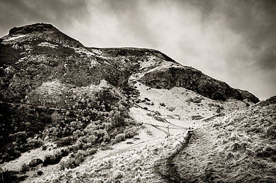 Photograph - Scottish Peaks 2 by Lenny Carter