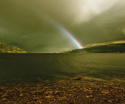 Photograph - Scottish Rainbow On Loch Fyne by Jane McIlroy