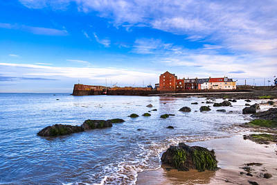 Photograph - Scottish Seascape At North Berwick Harbor by Mark E Tisdale