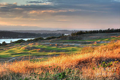 Photograph - Scottish Style Links In September - Chambers Bay Golf Course by Chris Anderson