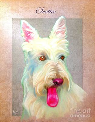 Scottish Dog Digital Art - Scottish Terrier Art by Iain McDonald
